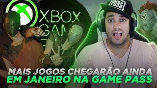 SURPRESA! MAIS JOGOS DEVERÃO CHEGAR AINDA EM JANEIRO NA XBOX GAME PASS!!! - MINUTO XBOX #XBOXBR