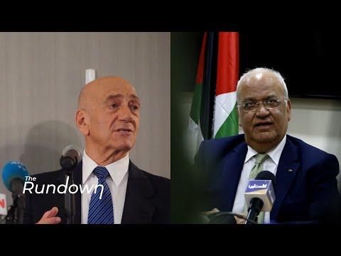Ex-Israeli PM Ehud Olmert Remembers Palestinian Negotiator Saeb Erekat: 'A Man Of Peace'