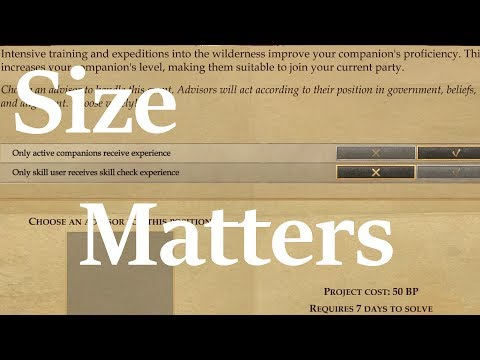 Size Matters: Let's talk about party size. |