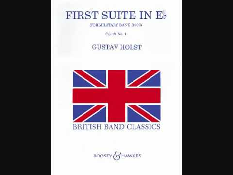 Gustav Holst  First Suite in Eflat