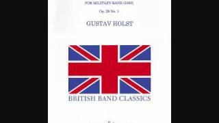 gustav holst first suite in e flat