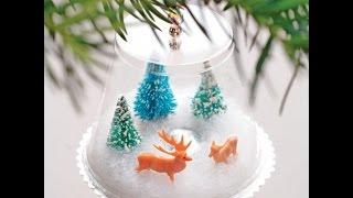 Идеи: новогодние поделки своими руками, простые и красивые