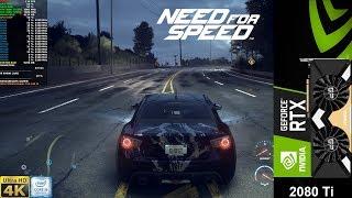 Need For Speed Maximum Settings 4K | RTX 2080 Ti | i9 9900K 5.1GHz