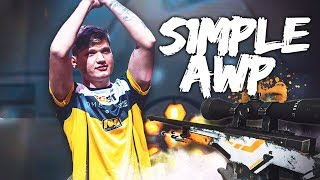 When s1mple plays AWP #2 - CSGO