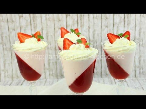 Philadelphia Erdbeer Dessert- perfekt zum Muttertag