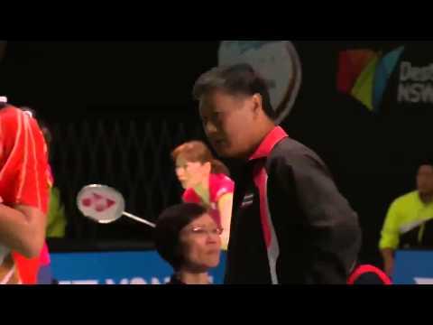 Badminton 2015 | iktor Axelsen vs Boonsak Ponsana . New