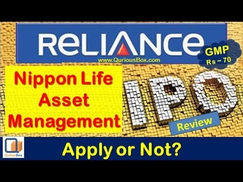 Reliance Nippon Life Asset Management Ltd IPO | Reliance Nippon Life IPO Review | Reliance Life IPO