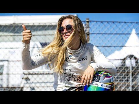 Das sagt  Rennfahrerin Sophia Flörsch nach ihrem Horror- Crash