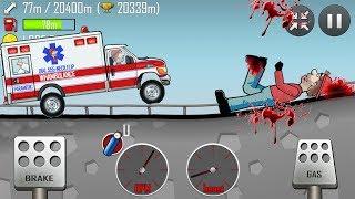 Hill Climb Racing  много денег ! За 42 секунды 100 тысяч монет !!!
