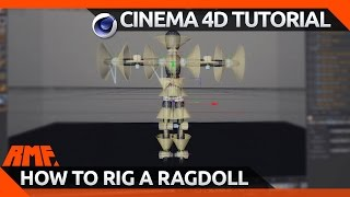 Cinema 4D Tutorial - How to Rig a Rag Doll