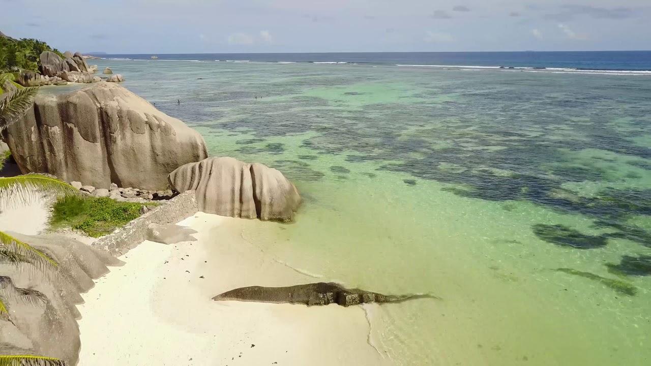 Heaven On Earth Seyşeller (Seychelles) Dji Mavic Pro Drone Fly More Combo 2018 Aerial Video