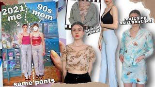 Download so I found my mom's clothes from the 90s