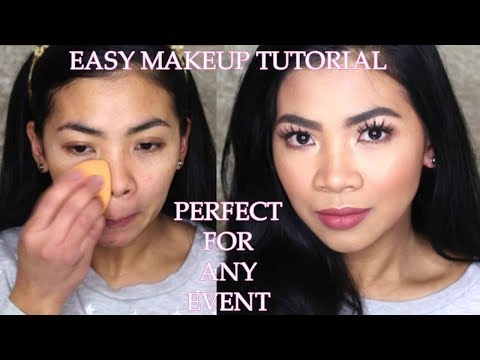 Easy makeup tutorial for any EVENT/PARTY