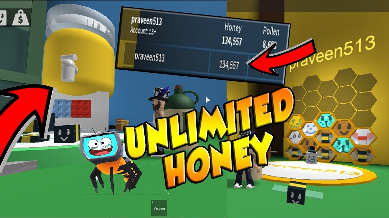 Omg Get Unlimited Honey In Bee Swarm Simulator Roblox Youtube - roblox bee swarm simulator how to get unlimited honey