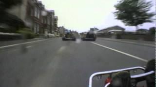 Crazy street racing! Peel Kart Race - On Board