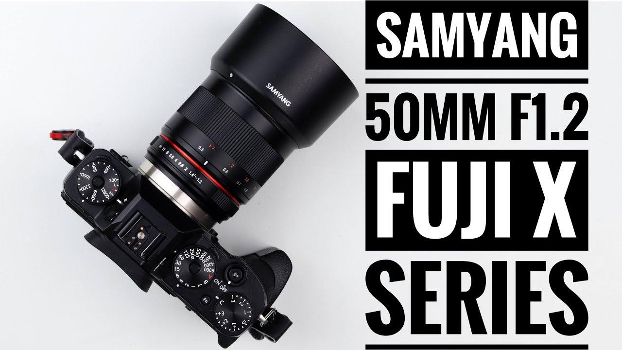 Samyang 50mm F1 2 CSC Lens - Fuji X Series!