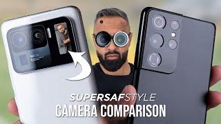 Xiaomi Mi 11 Ultra vs Galaxy S21 Ultra Camera Test Comparison