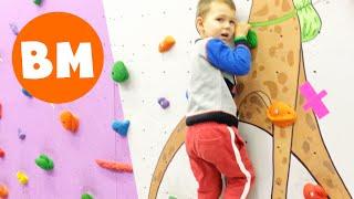 ВМ: Скалодром для детей ЛаймСтоун | Climbing wall LimeStone