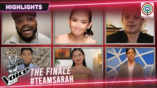 The Voice Coaches, pinuri ang performance ng Team Sarah | The Voice Teens Philippines 2020