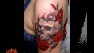 Татуировки. Tattoo. Лучшие тату - Женские.(Tattoo, Татуировки, Тату, 3D, 4D, стерео, объемные, стерео кино, фото татуировок, женские татуировки, белые татуиро..., 2010-08-09T14:49:24.000Z)