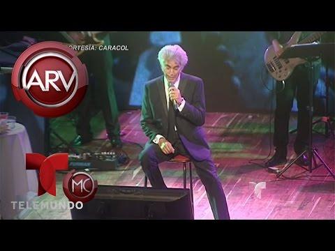 El Puma Rodríguez suspende recitales por sus problemas de salud