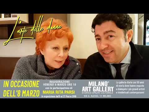 L'arte delle donne: Maria Rita Parsi e Salvo Nugnes presentano l'evento