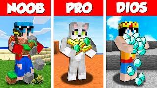 Minecraft NOOB vs PRO vs DIOS: TORNEO de 1.000 $ en Minecraft