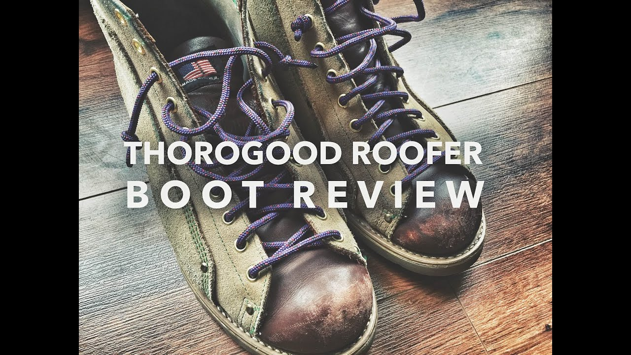 Jamie Hynemans Thorogood Roofer Boots Review Video Youtube