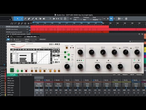 Softube Weiss DS-1 - AES 2018