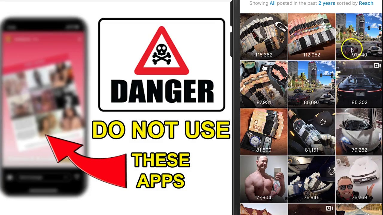 Top 9 Instagram Apps Scams That Could Get You Hacked - Wolf Millionaire