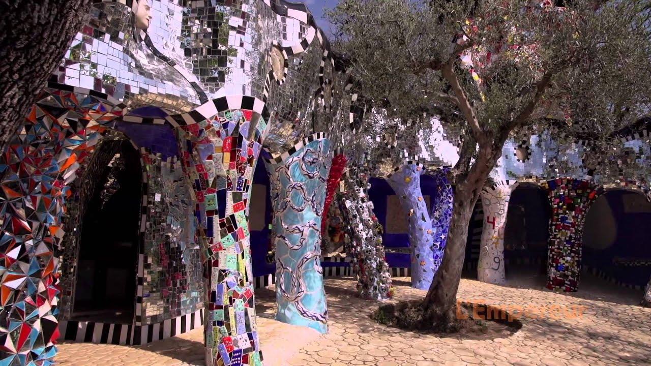 Niki de saint phalle le jardin des tarots youtube - Niki de saint phalle le jardin des tarots ...