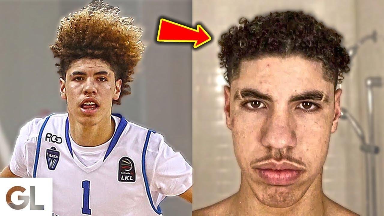 Lamelo Ball Cut His Hair