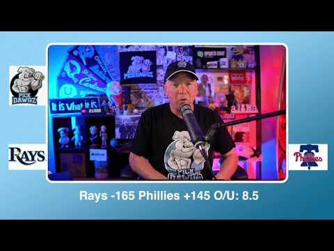 Philadelphia Phillies vs Tampa Bay Rays Free Pick 9/25/20 MLB Pick and Prediction MLB Tips