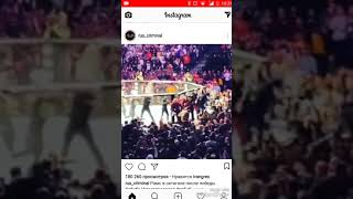Драка в октагоне после боя Хабиба и Конора!fight in Octagon after the battle of Habib and Conor