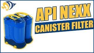 Aquarium Pharmaceuticals API NEXX Canister Filter Product Demo