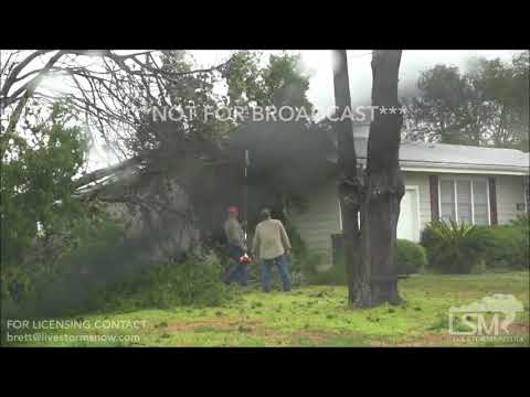 08-26-17 Hallettsville TX Hurricane Damage