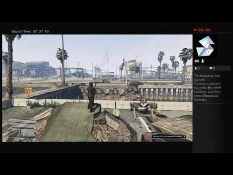 Gta5 Online PS4 Broadcast(Malaysia)