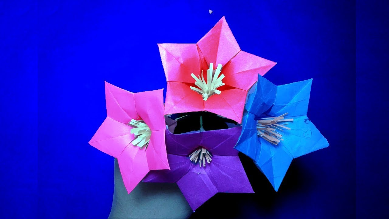 Paper Flower Diyhow To Make Easy Origami Paper Flower Origami
