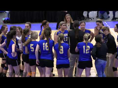 Princeton VS Alleghany NCHSAA Volleyball 1A State Final