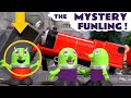 Funny Funlings and Thomas and Friends toy trains Prank by mystery Funling