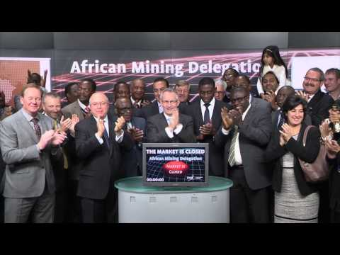 African Mining Delegation closes Toronto Stock Exchange, March 3, 2015