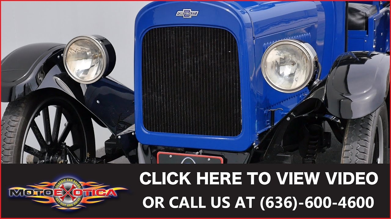 Dodge Truck Parts >> 1923 Chevrolet Series-B Superior Light Delivery Truck ...