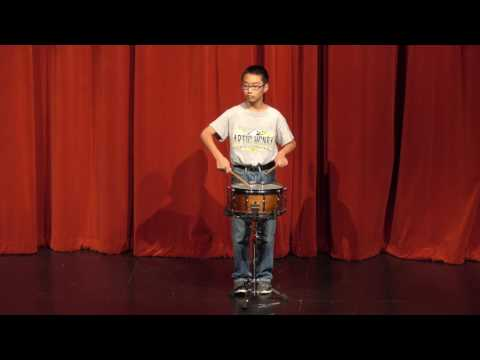 Hurricane - Glenn Choe/Henry 7th Grade. 2017 Henry and Stiles Middle School Percussion Concert