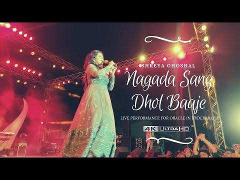 Nagada Sang Dhol - Goliyon Ki Rasleela Ram Leela | Shreya Ghoshal LIVE Performance