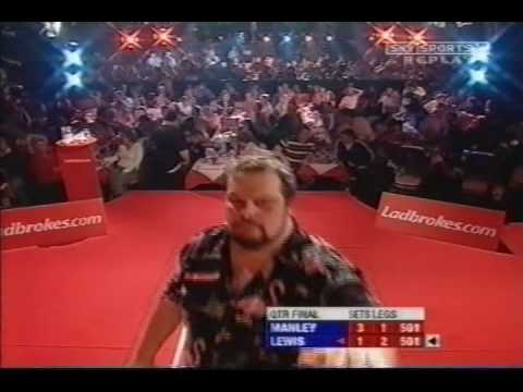 Adrian Lewis STORMS OFF STAGE Manley IS ANGRY!!