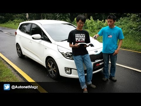 Review All New KIA Carens Indonesia Test Drive by AutonetMagz [Part 1]