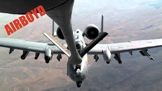 A-10 Refueling Idaho - Utah Air National Guard