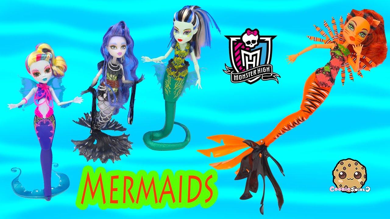 Monster High Mermaid Great Scarrier Reef 2016 Toralei