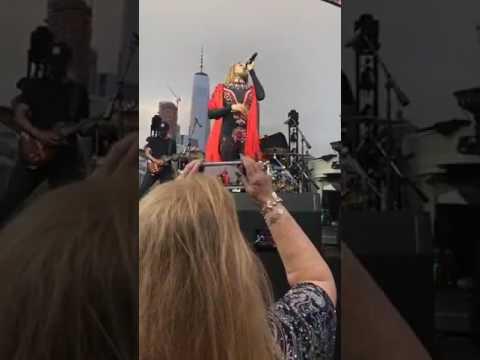Deborah Cox Performs at NYC Pride Island 2017.