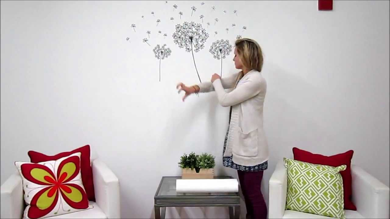 Dandelion Wall Art Kit   YouTube